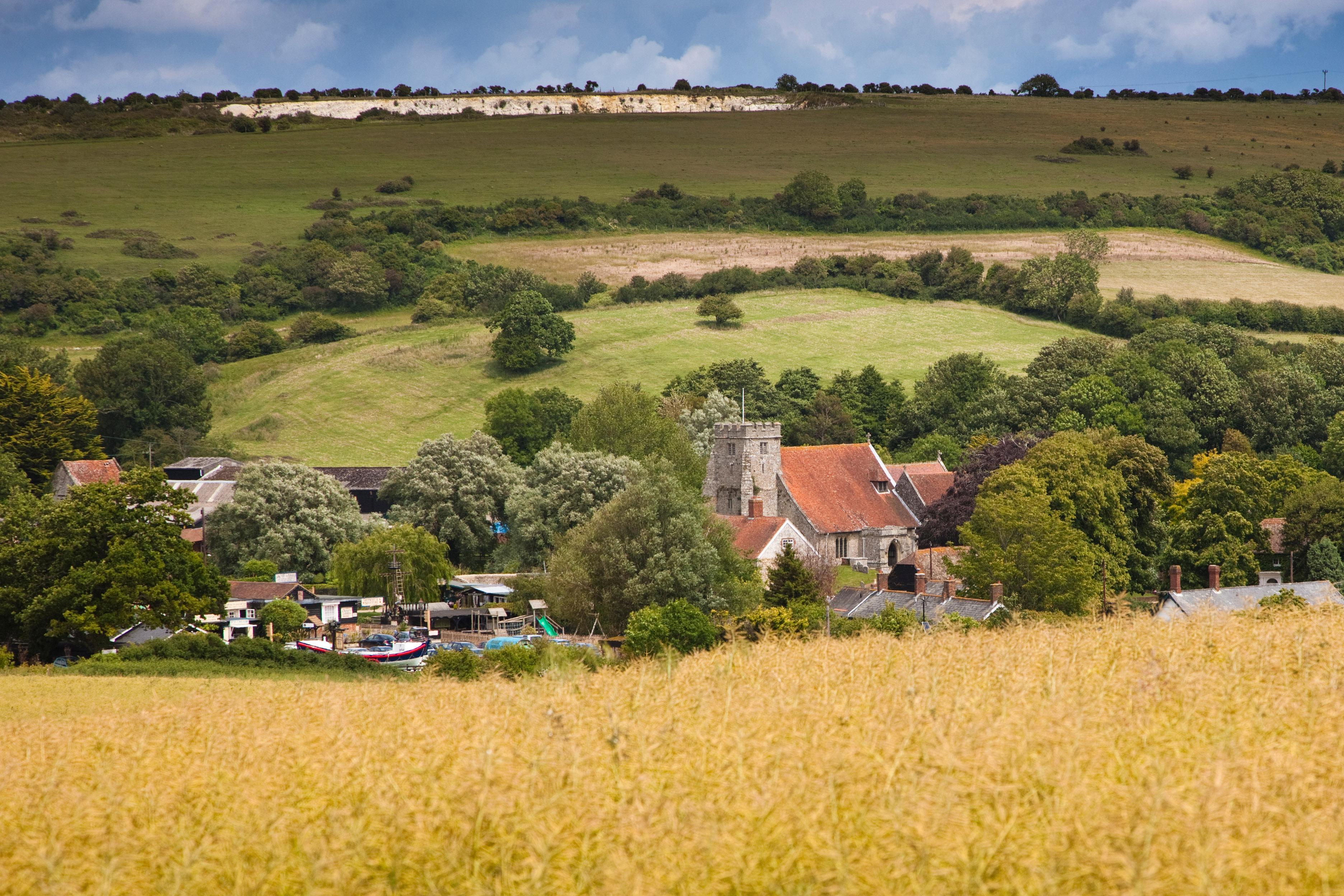 Arreton Barns View