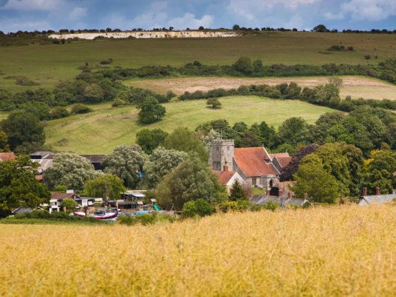 View of Arreton Barns