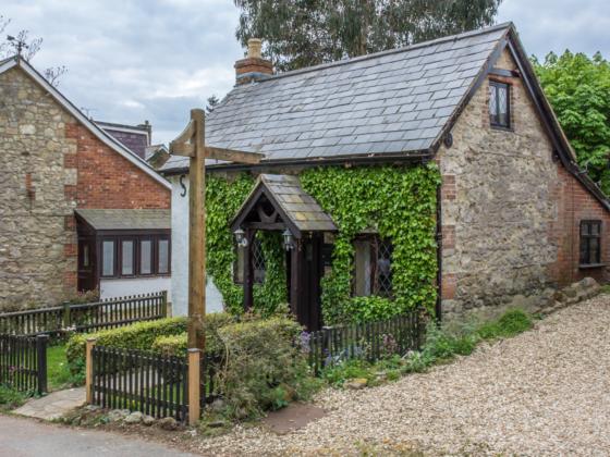 Front View - Lavender Cottage